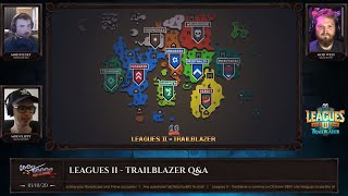 OSRS Modcast (Q&A) October 1st: Leagues II - Trailblazer
