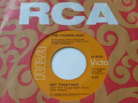 Youngbloods   Get Together  45rpm