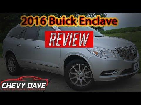 2016 Buick Enclave Review - Buick Enclave Leather Model