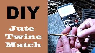 DIY: Jute Twine Match