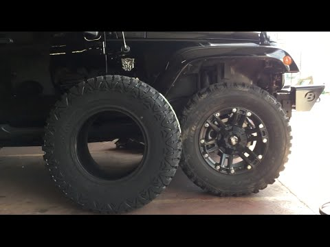 35 inch tires for my jeep wrangler review and comparison between 33 and 35 inch tires youtube. Black Bedroom Furniture Sets. Home Design Ideas