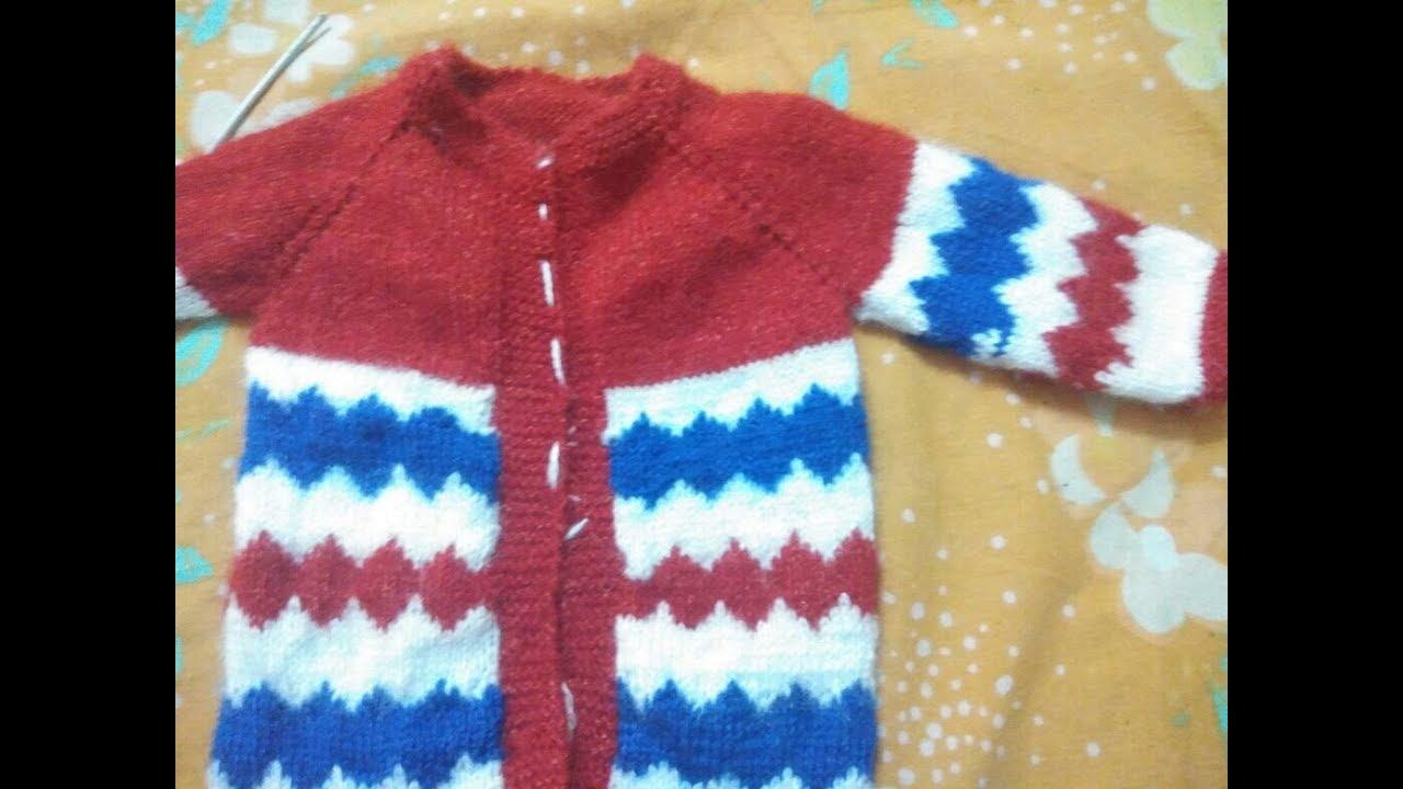 3de9332b5d6f Gale se suru hone wala one piece baby sweater banane ka aasan tarika ...