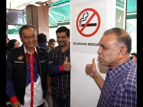 SMOKING BAN: Eateries and shoplots first, launderettes and hotels next