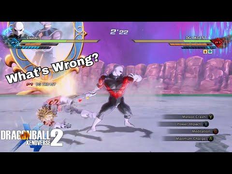 Jiren Puts Handy Cannon Spammer To... Sleep! | Dragon Ball Xenoverse 2