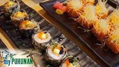 My Puhunan: Patok at kakaibang japanese food trip | Crazy Sushi