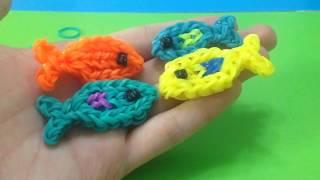 Рыбка из резинок на станке Monster Tail