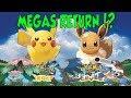 MEGA EVOLUTIONS INCLUDED IN POKEMON LET'S GO!?