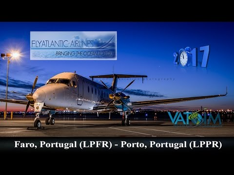 TSZ101 LPFR (Faro) - LPPR (Porto) with B1900 Carenado | Flight Simulator 2017