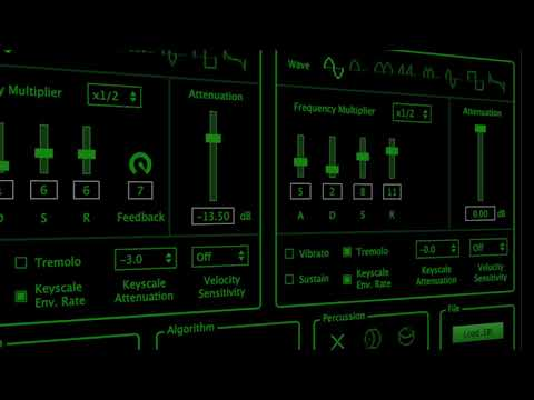 discoDSP OPL FM Synthesizer Trailer