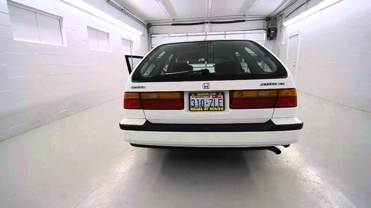 Honda 91 honda accord lx : MA023386 | 1991 Honda Accord Wagon EX | HondaofBurien | White ...