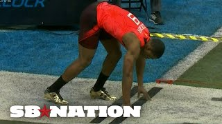 Repeat youtube video Amari Cooper vs Dorial Green-Beckham in the 40 at the NFL Combine