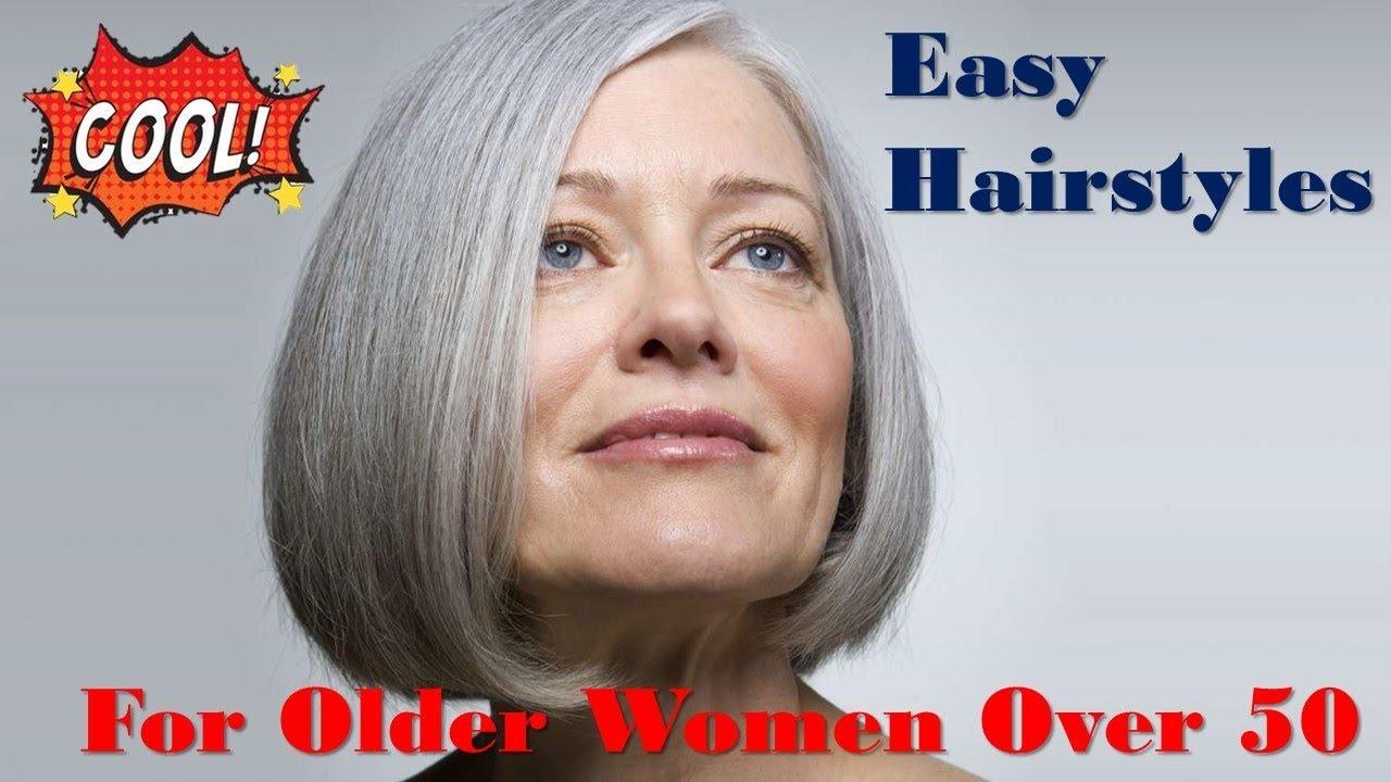 easy hairstyles older women