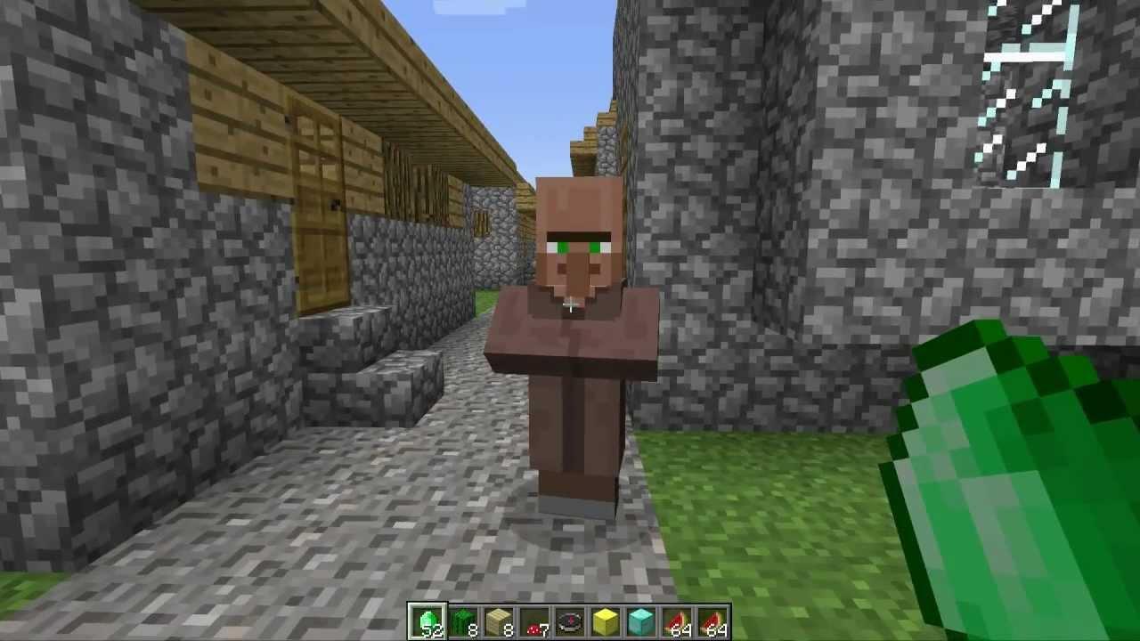 Minecraft 13 Update Villager Trading Emeralds New Items Blocks New Structures