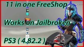 Obikuni MultiStore 11 in one FreeShop Works on Jailbroken PS3  ( Rebug 4.82.2 )