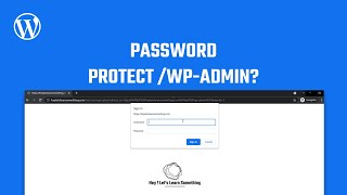 WordPress login: How to password protect wp-login.php /wp-admin using htaccess? | Brute force attack