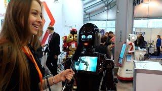 Промышленные роботы, роботы для бизнеса и развлечений на Robotics Expo 2016