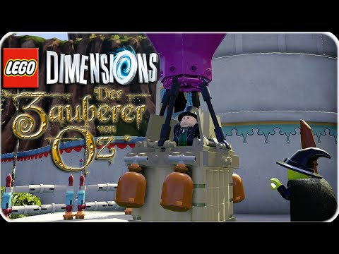 Lego Dimensions Zauberer von OZ Open World Part 1 | Let´s Play Lego Dimensions Deutsch