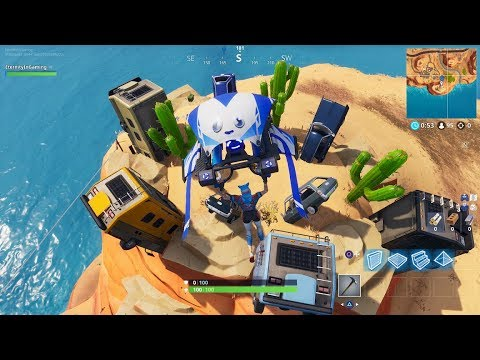 Fortnite Dance On Top Of A Crown Of Rv S Metal Turtle And