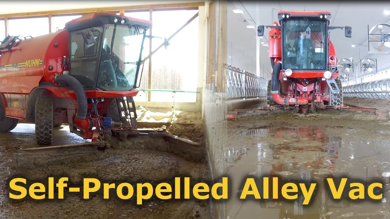 Self-Propelled Alley Vac - Alley Scraper | Nuhn Industries Ltd