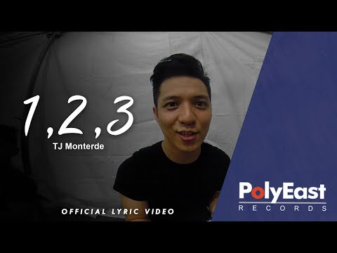 TJ Monterde - 1, 2, 3 - (Official Lyric Video)