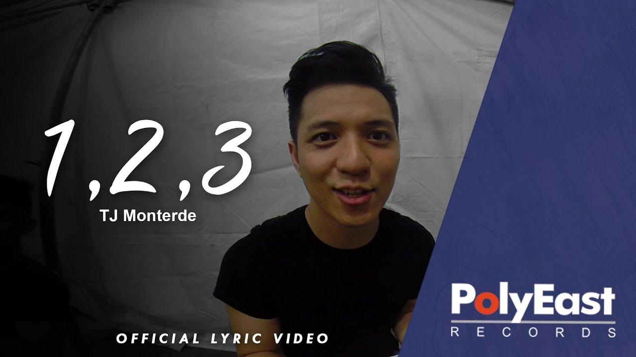 TJ Monterde - 1, 2, 3 - (Official Lyric Video)