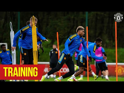 Training | Reds working hard ahead of Atalanta Champions League test | Manchester United