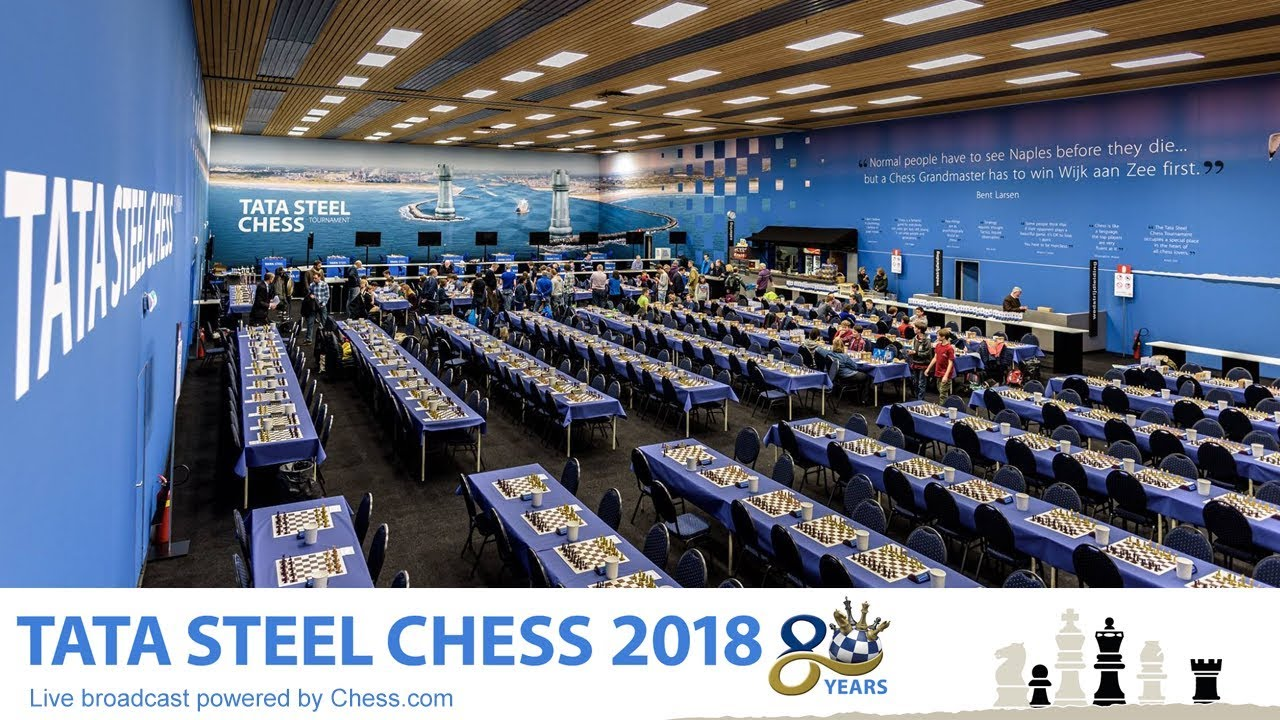 tata steel chess live