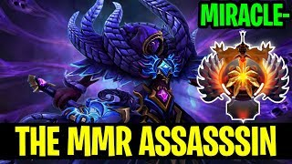 The MMR Assassin - Miracle- Spectre - Dota 2