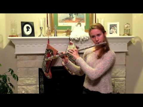 2015 12 11 Katie Willig age 16 performing Ab Minor by Boehm