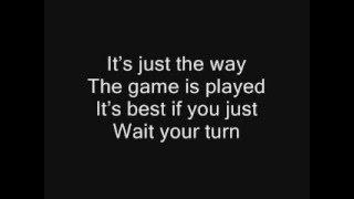 Rihanna-Wait is over (With lyrics)