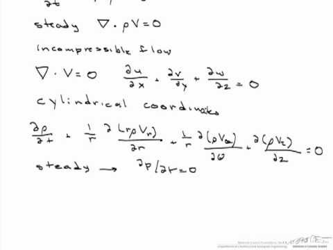 Continuity And Stream Functions