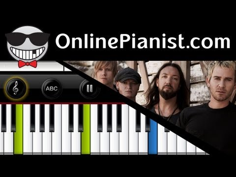 Lifehouse - Hanging By A Moment - Piano Tutorial