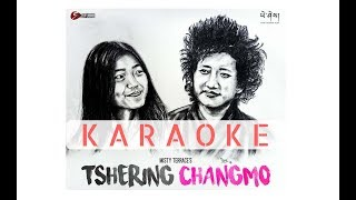 Tshering Changmo Karaoke Track - Misty Terrace