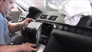 VW Passat. Dashboard replacement. Замена приборной панели.