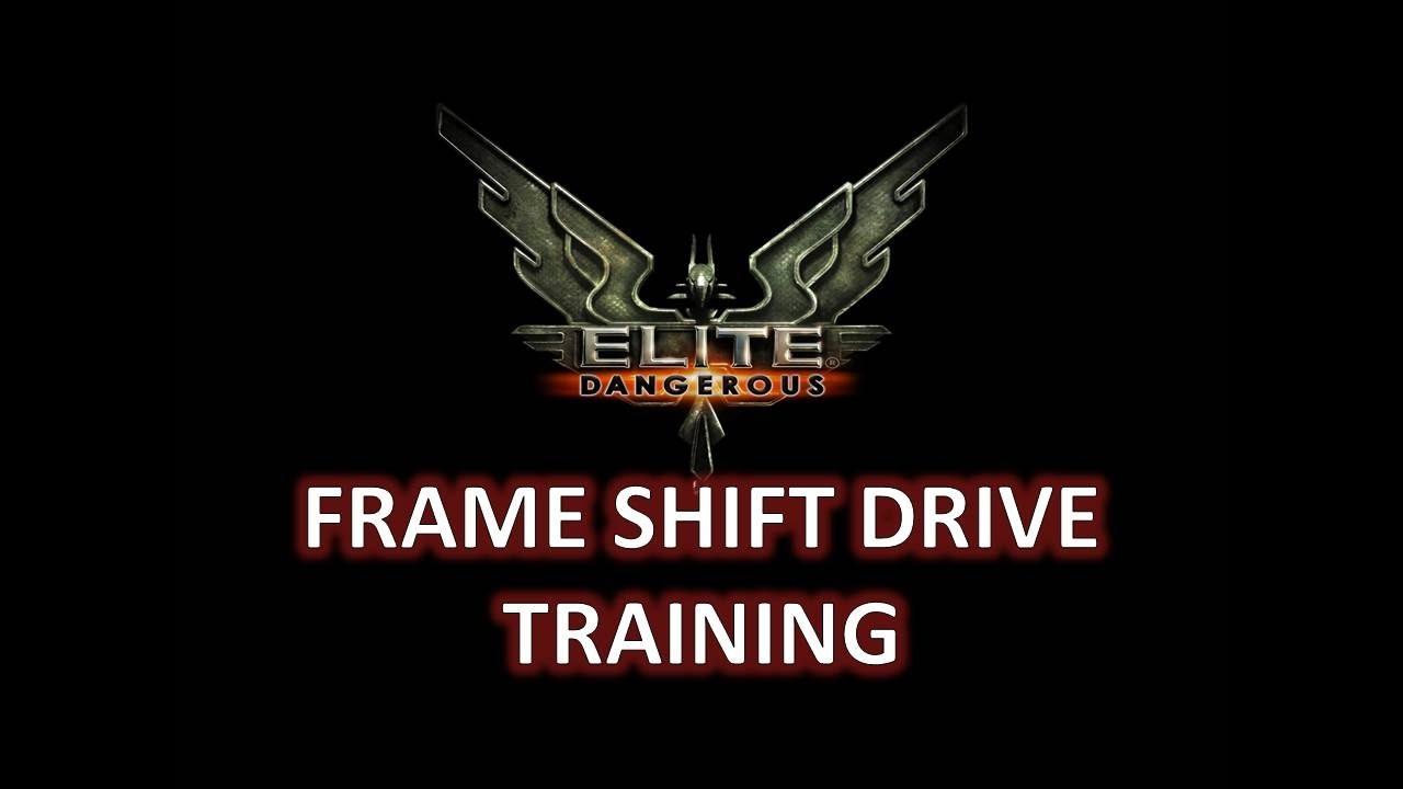 Elite Dangerous Frame Shift Drive Training - YouTube