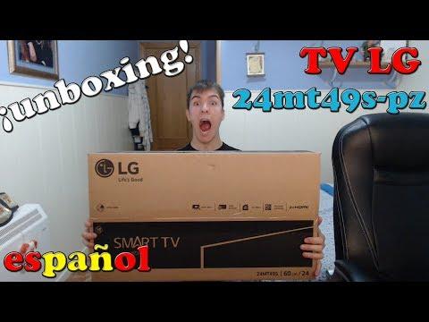 UNBOXING | TV LED LG 24MT49S-PZ | ESPAÑOL