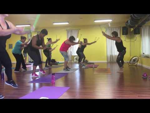 Pound Fitness Workout  Trifecta