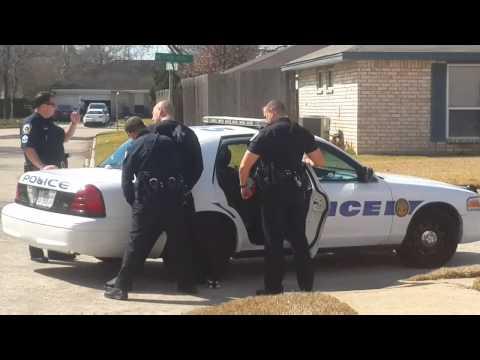 Drug Bust In Friendswood Texas!