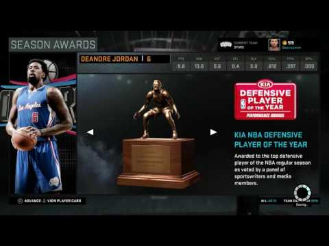 What If Kevin Durant Signs With The Spurs | NBA 2K16