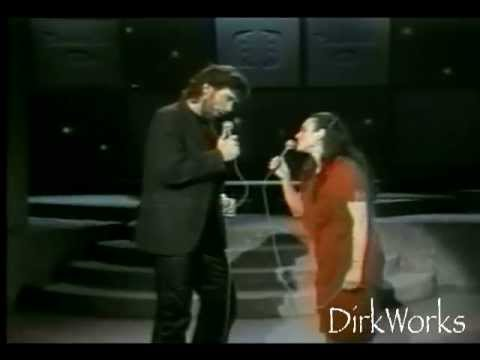 Eddie Rabbitt and Wife - performing FRIENDS AND LOVERS - Juice Newton duet - LIVE!