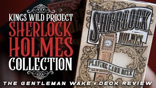 Sherlock Holmes Playing Cards by Kings Wild Deck Review