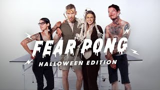 Fear Pong: Halloween (Kaya & Christian vs. Kat & Chris) | Fear Pong | Cut