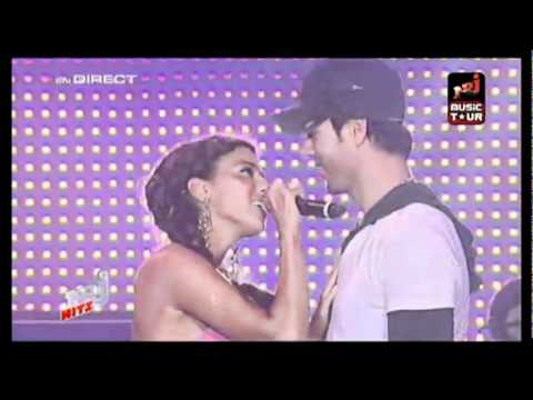 Enrique Iglesias ft. Nadiya - Tired of being sorry LIVE NRJ Music Tour.