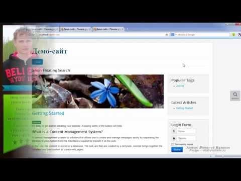 Стильный модуль поиска по сайту