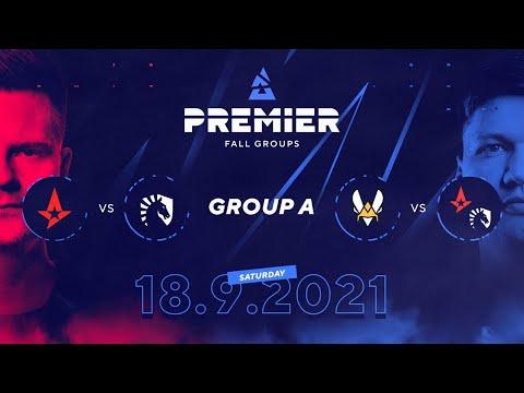 BLAST Premier Fall Groups: Astralis vs. Team Liquid, Vitality vs. Winner of AST/TL    Group A, Day 3