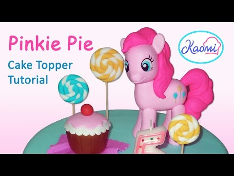 How To Make Pinkie Pie Cake Topper