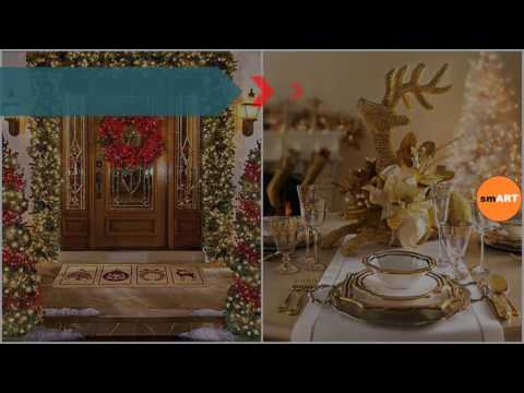 Xmas house decorations indoor christmas decorating ideas for Inside christmas decorations