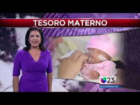 Univision 23 Dallas Visits Mothers' Milk Bank of North Texas