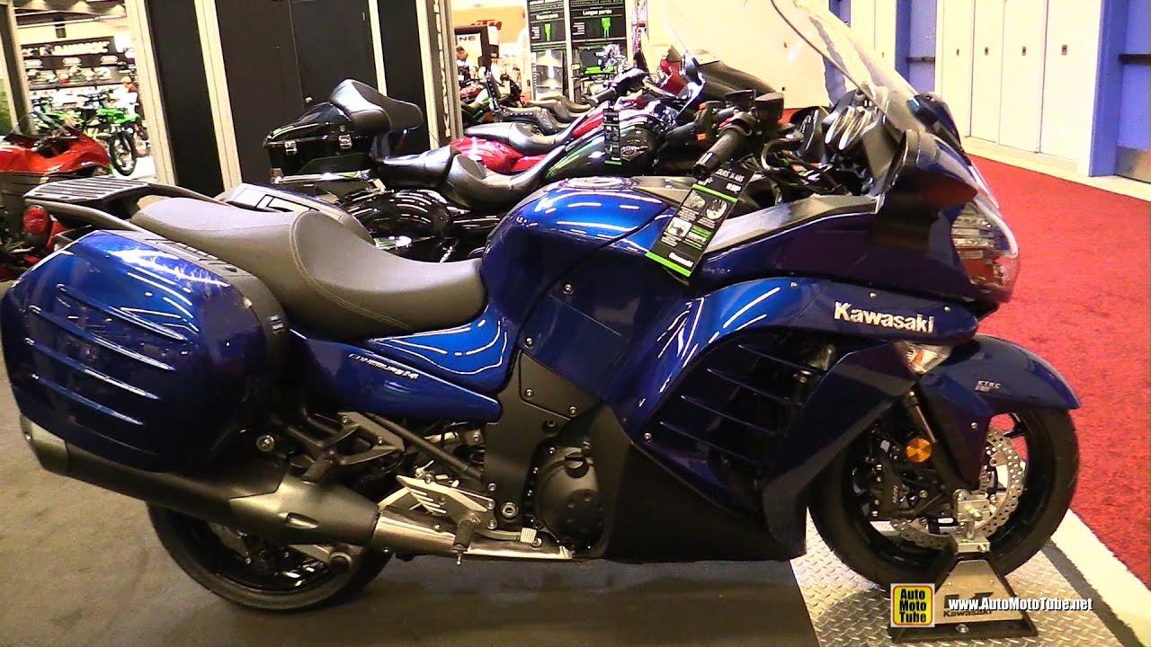 2017 Kawasaki Concours 14 ABS - Walkaround - 2017 Montreal ...