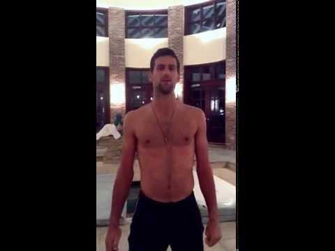 Novak Djokovic ALS Ice Bucket Challenge